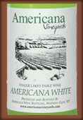 Americana Vineyards Americana White
