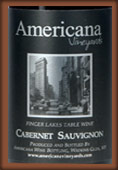 Americana Vineyards  Cabernet Sauvignon