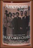 Americana Vineyards Finger Lakes Chablis