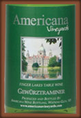 Americana Vineyards  Gewrztraminer