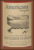 Americana Vineyards  November Harvest