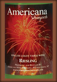 Americana Vineyards Riesling