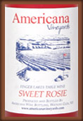 Americana Vineyards Sweet Rosie